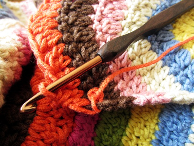 Square Crochet Hook close up Jan 12