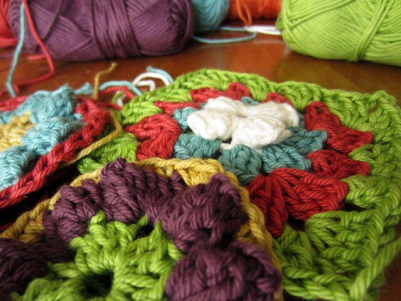 Rowan Handknit Cotton Granny Squares