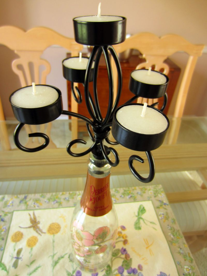 Wine-bottle-candleabra-tealight-holder