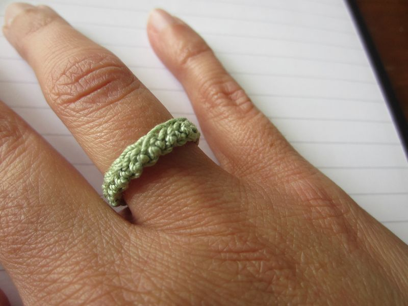 Crochet-ring