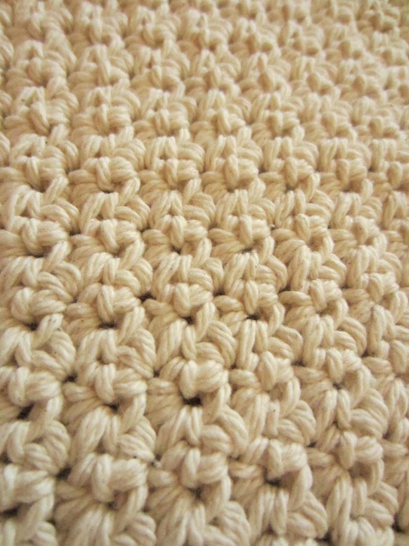 Crochet-dishcloth