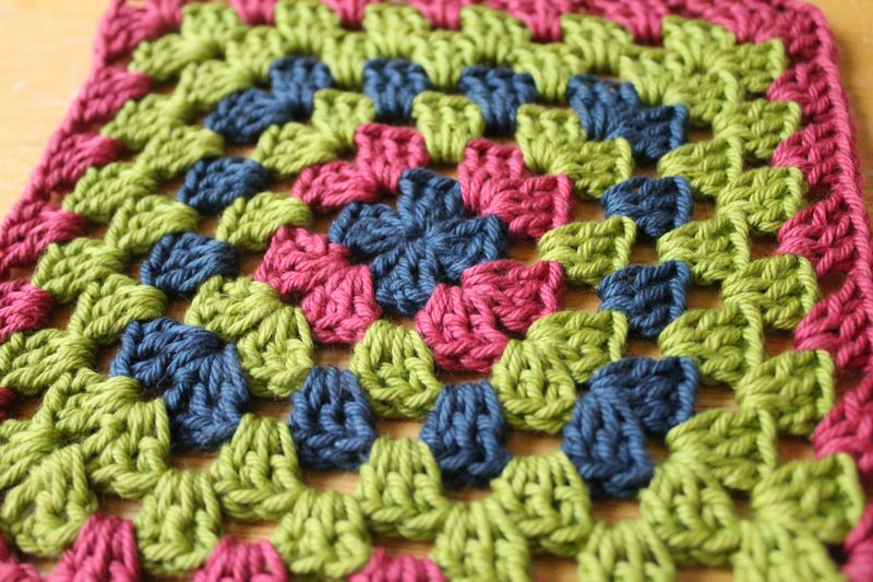 Granny-square-week-five