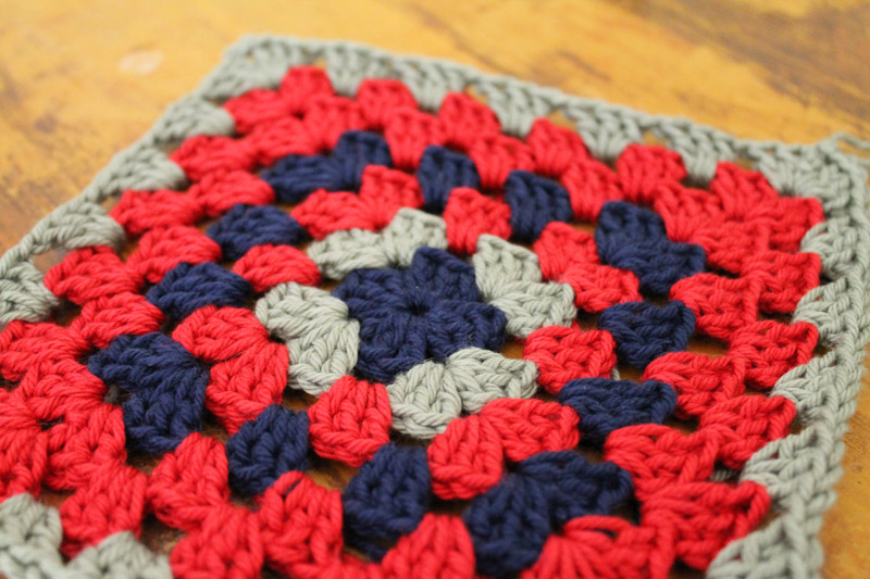 Crochet Granny Square a Week - Week 15