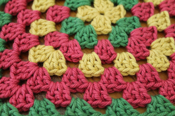 Crochet Granny Square a Week Project - Week 12