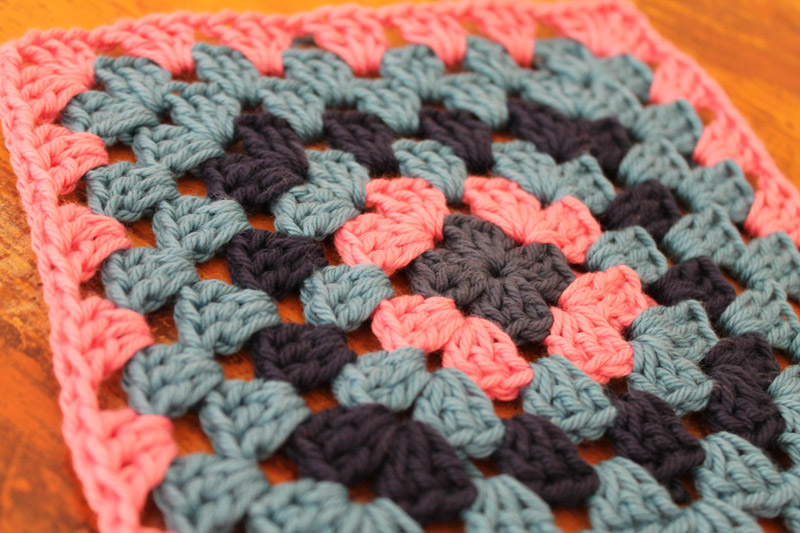 Crochet Granny Square a Week Number 16